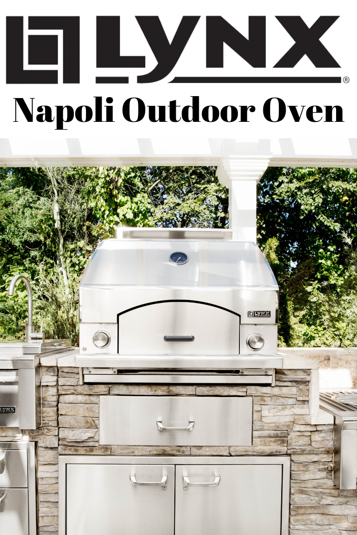 The Lynx Napoli Outdoor Oven  Outdoor oven, Outdoor kitchen