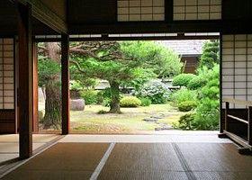 das traditionelle japanische wohnhaus japanische. Black Bedroom Furniture Sets. Home Design Ideas