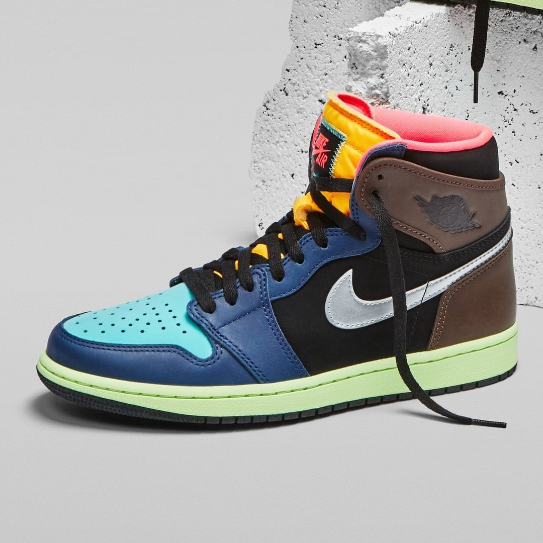 """Sneaker News on Instagram: """"This colorful take on the Air Jordan 1 ..."""