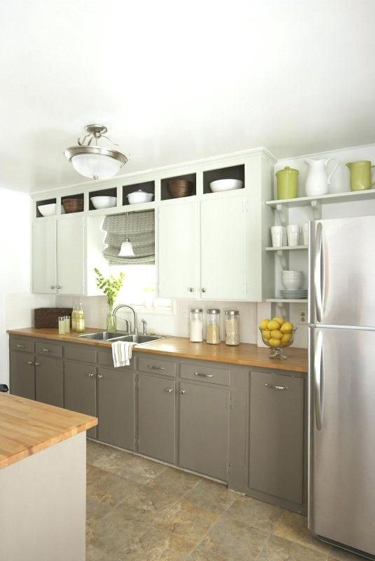 different color top and bottom kitchen cabinets white upper extended to the ceiling gr best on kitchen cabinets to the ceiling id=22522