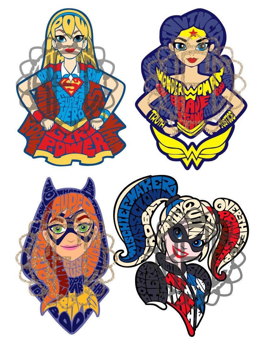 DC Super Hero Girls Stamp /& Doodle Set