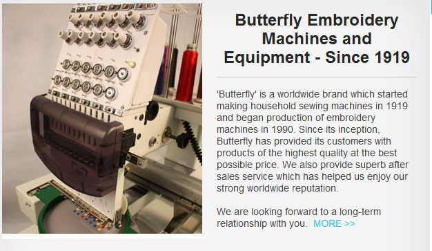 Best Commercial Embroidery Machines Are Available At Butterflyemb