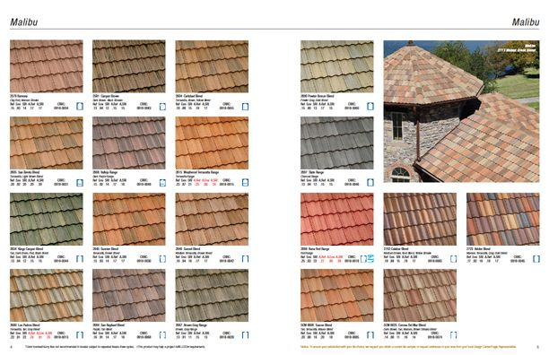 Malibu Not All Colors And Profiles Available In All Regions Check Www Eagleroofing Com For Availability In Your Area Roofing Concrete Roof Tiles Roof