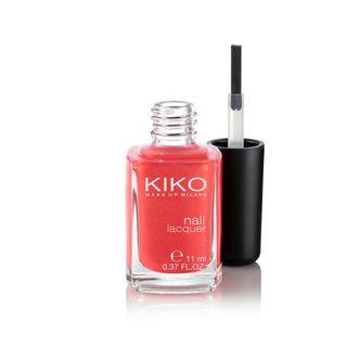 KIKO MAKE UP MILANO: Nail Lacquer, esmalte de uñas de color puro con fórmula endurecedora y fortificante