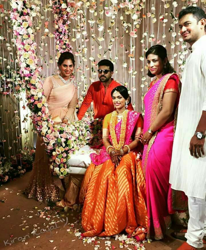 Sreeja Chiranjeevi Daughter Wedding Wedding Gallery Wedding Stage Bridal Photography