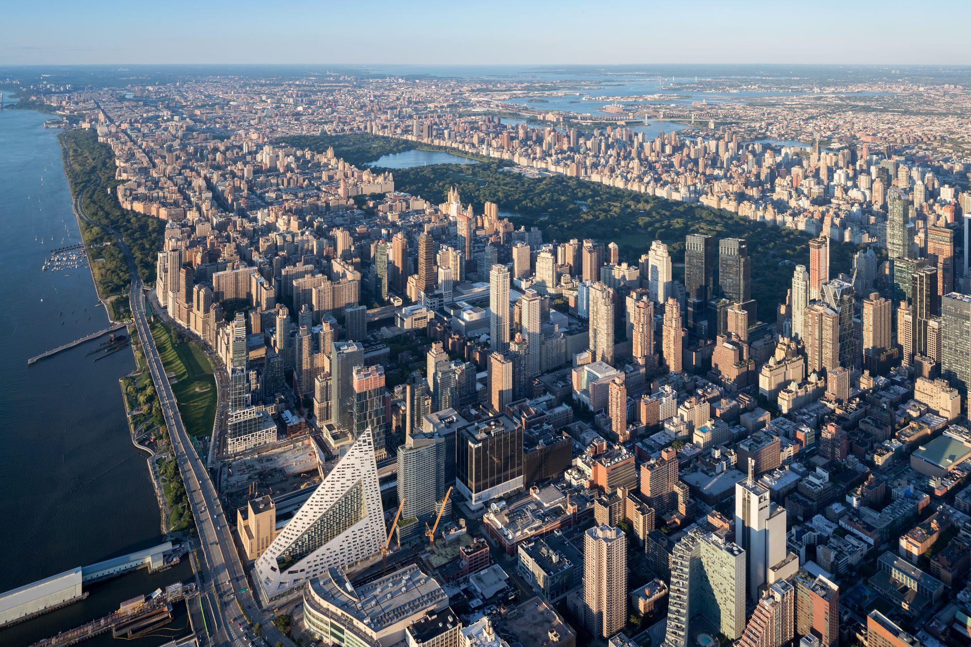 Vil 57 West Big Architectural Photographers Birds Eye New York City