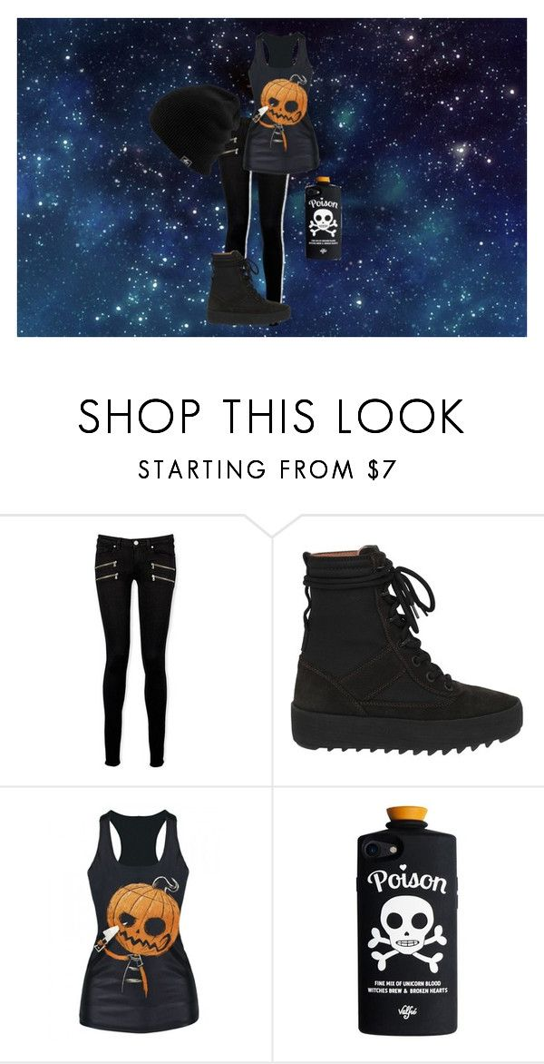 """""""Starry Night"""" by bloody3tear on Polyvore featuring Paige Denim and adidas"""