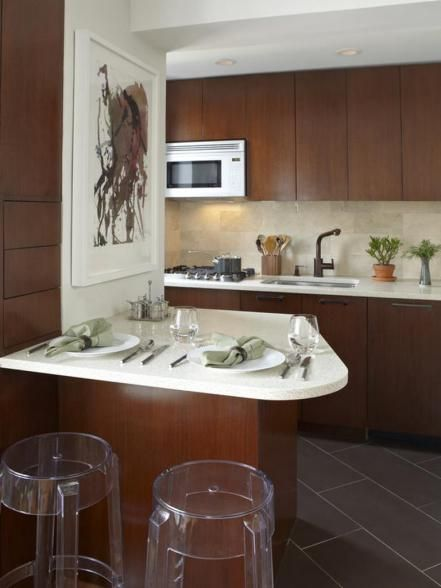 Small-Kitchen Design Tips Kitchens, Spaces and Square feet