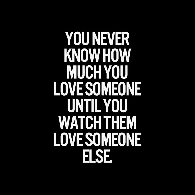 You Never Know How Much You Love Someone Until You Watch Them Love