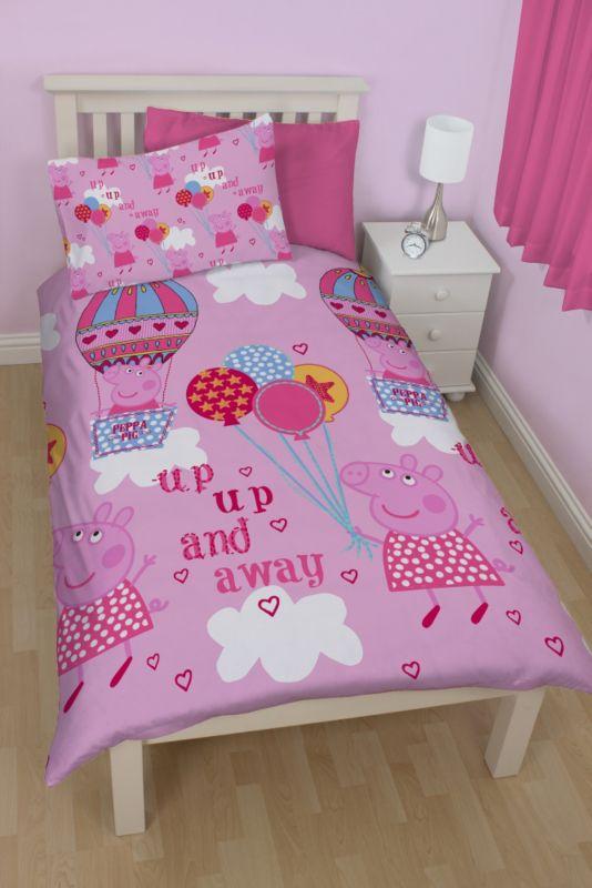 Peppa Pig Duvet Set Single Bedroom Asda Direct Duvet Sets Kids Bedroom Duvet