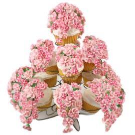 Festival Florals Cupcakes.