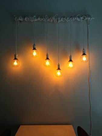 Ikea Sekond Cord And Nittio Light Bulb Ikea Lighting