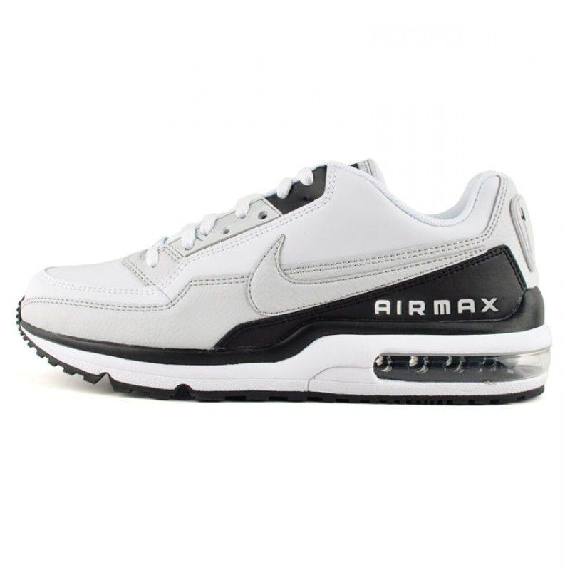 brand new 0fd7c 8080e Nike Air Max Ltd 3 Mens 687977-103 White Grey Black Running Shoes Size 7.5