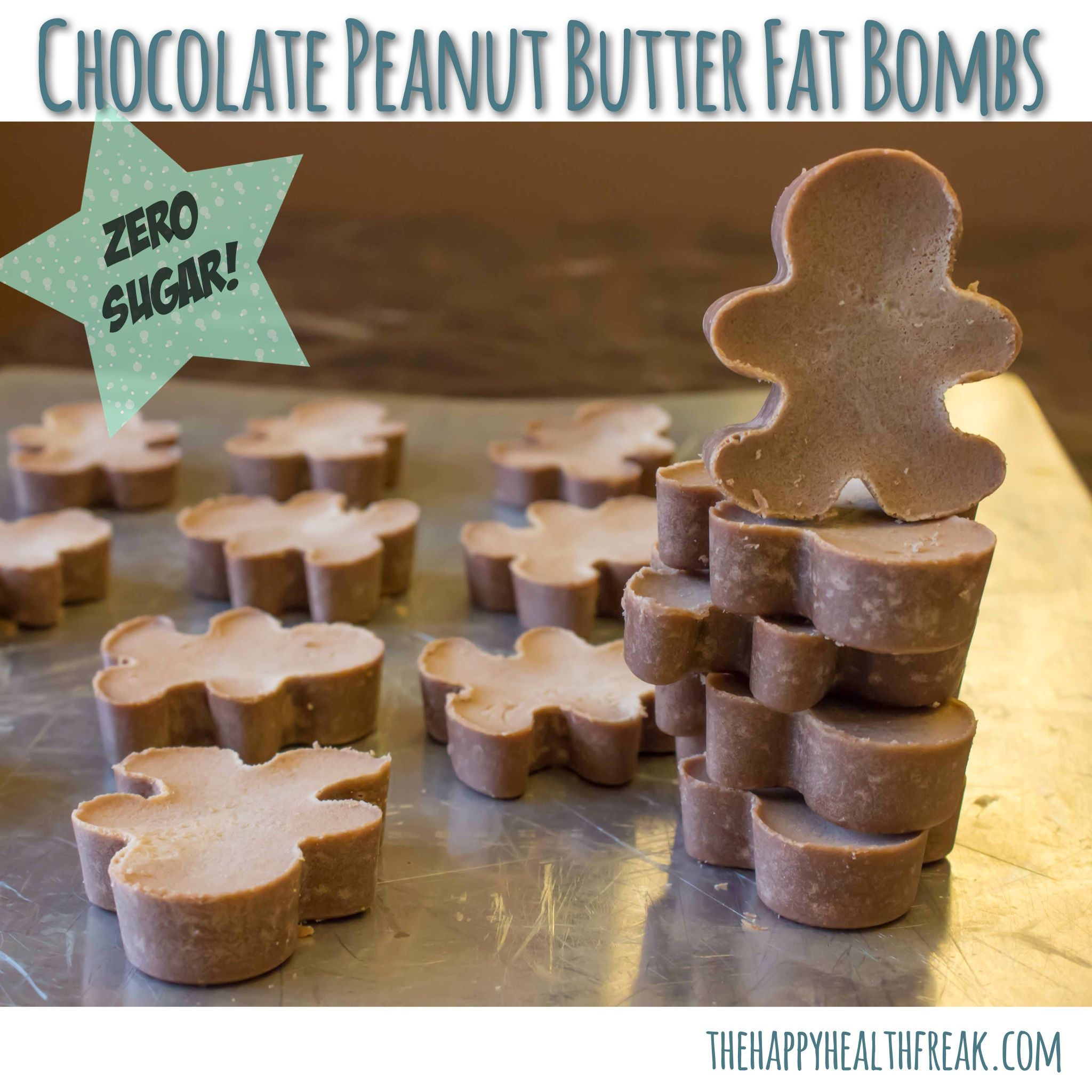 Chocolate nut butter fat bombs (use sun butter or almond butter)