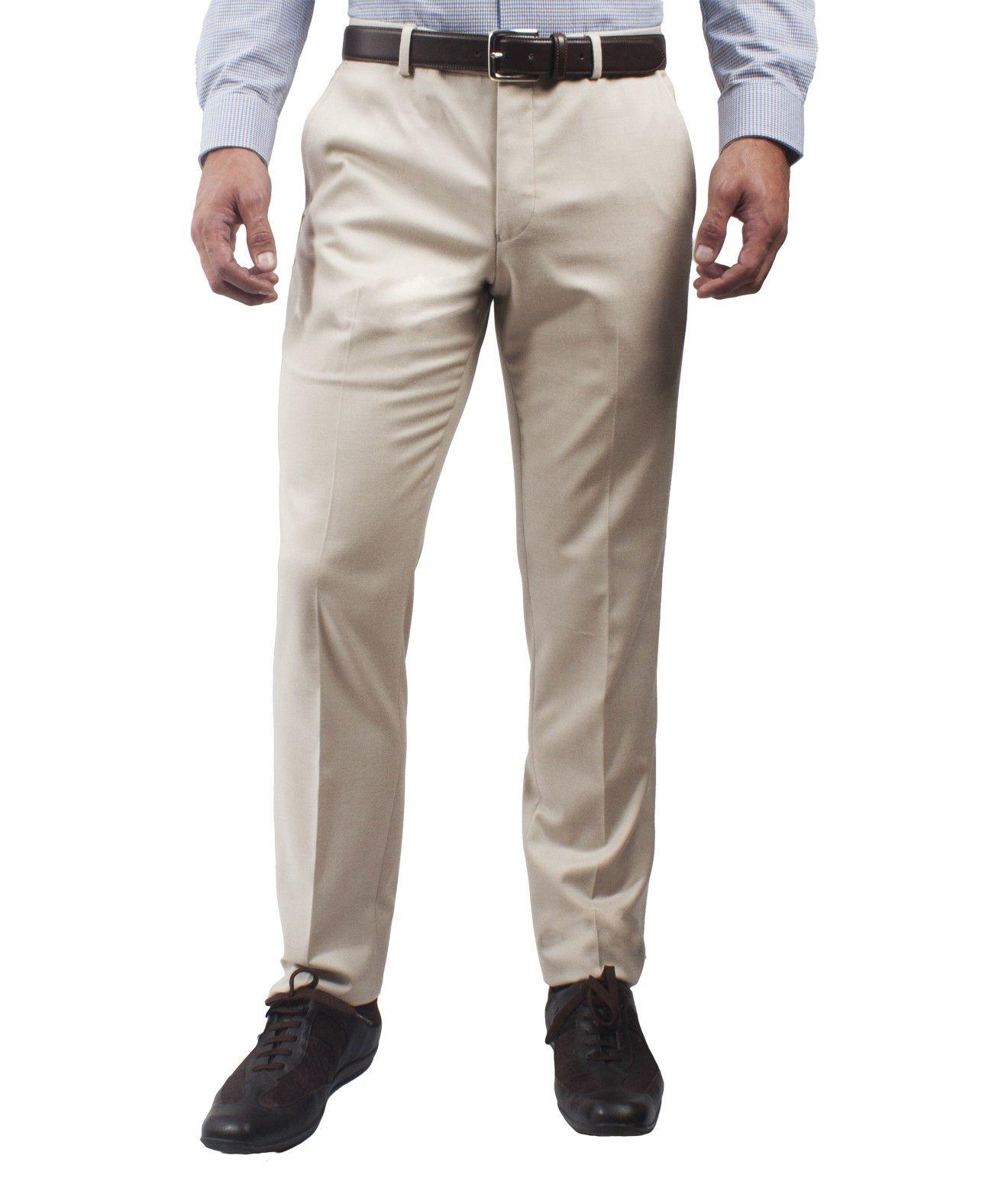 Pantalon De Vestir Lmental Beige Composicion 65 Poliester 33 Viscosa 2 Elastano Pantalones De Vestir Jeans Para Hombre Traje Formal Hombre