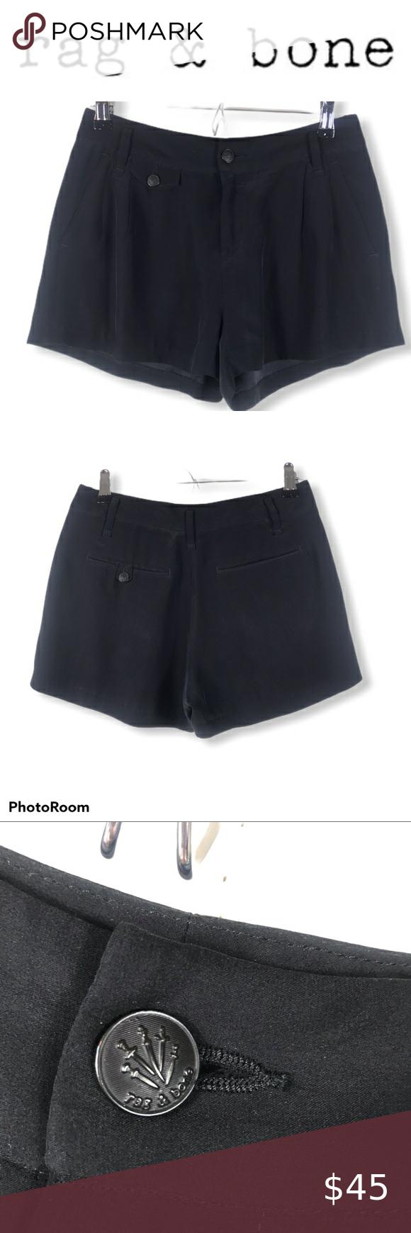 Rag Bone 100 Silk Black Pleated Dress Shorts 0 Pleated Dress Short Black Pleated Dress Short Dress Styles [ 1740 x 580 Pixel ]