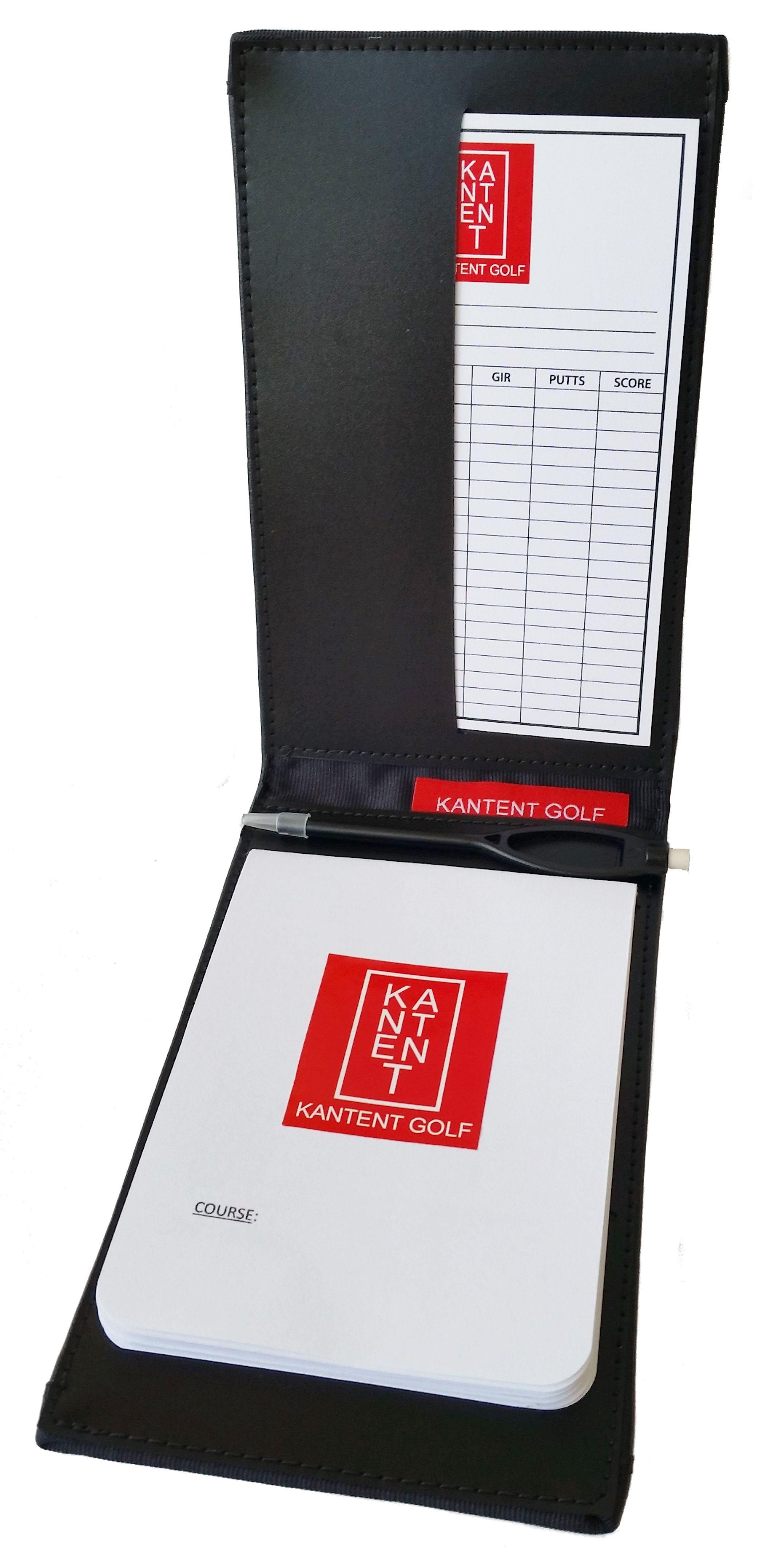 kantent golf scorecard and yardage book holder with scorecard and