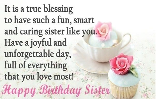 Birthday Quotes For Sister Cute Happy Birthday Sister Quotes