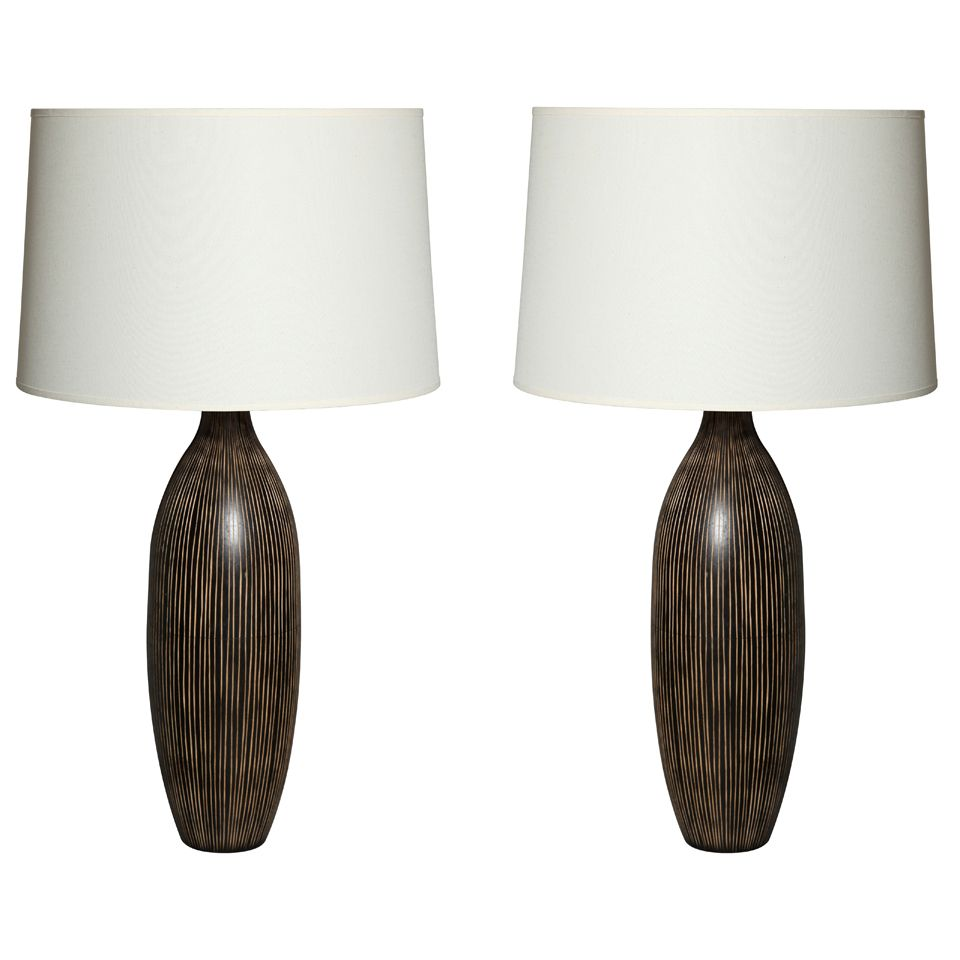 Pair of mahogany table lamps linens 1stdibs pair of mahogany table lamps explore items from 1700 global dealers at 1stdibs geotapseo Choice Image