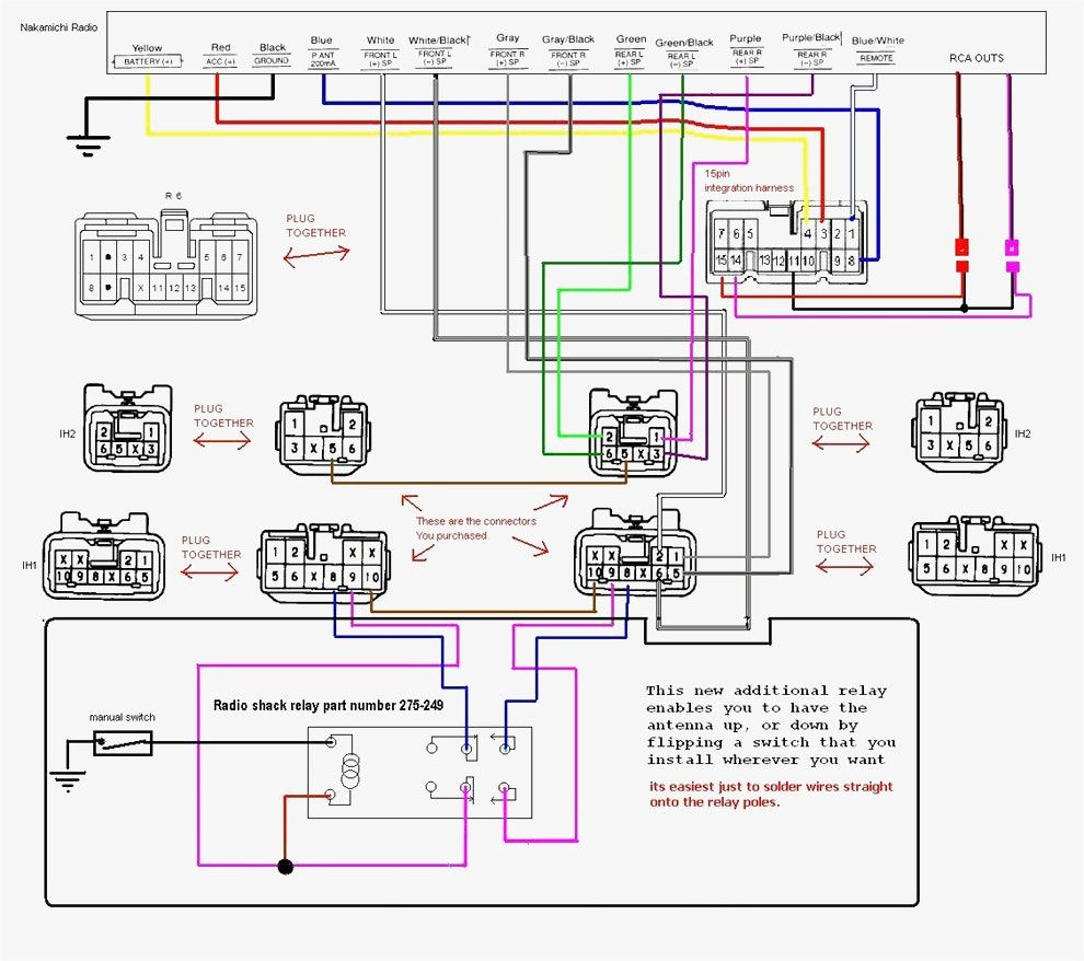 Crossover Wiring Diagram Car Audio Car audio, Diagram