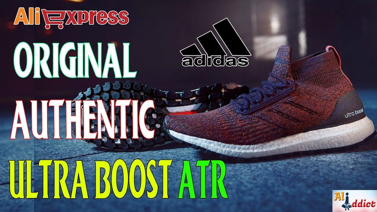 asistente maestría afijo  AliExpress Review: Authentic Adidas Ultra Boost ATR | Adidas ultra boost,  Adidas, Sport sneakers