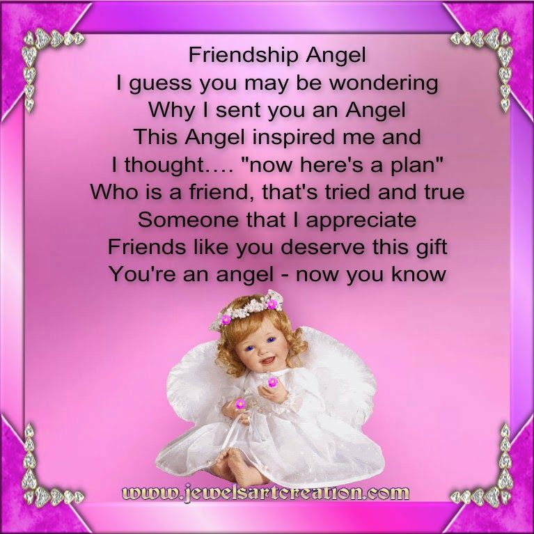 Jewels Art Creation: Friendship Angel | Love | Pinterest | Jewel ...
