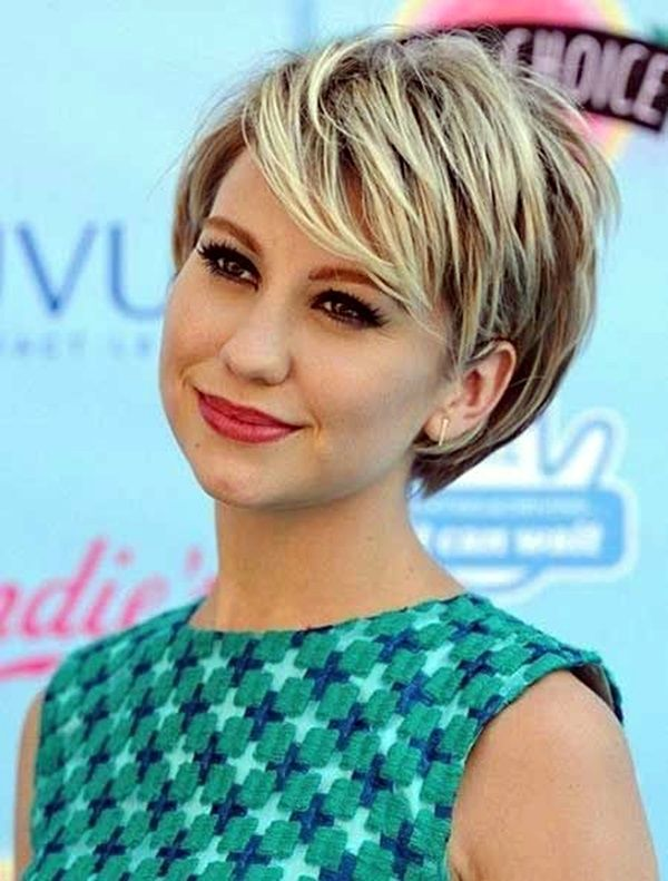 Hairstyles For Round Faces To Make It Look Slimmer Rounding - Undercut hairstyle for chubby face