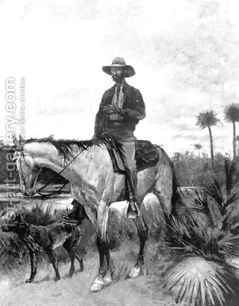 A Cracker cowboy by Frederic Remington