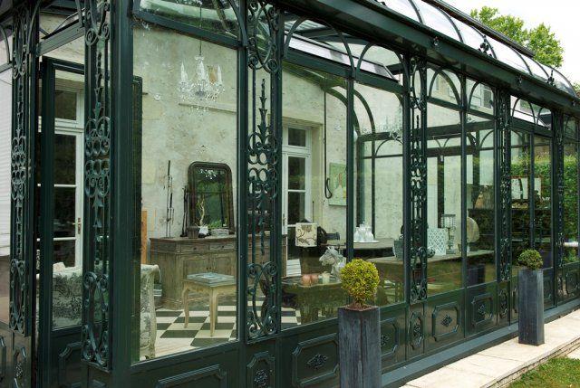Turpin-longueville, veranda en acier années 1900-1930, style art nouveau en 2019 | Style art ...