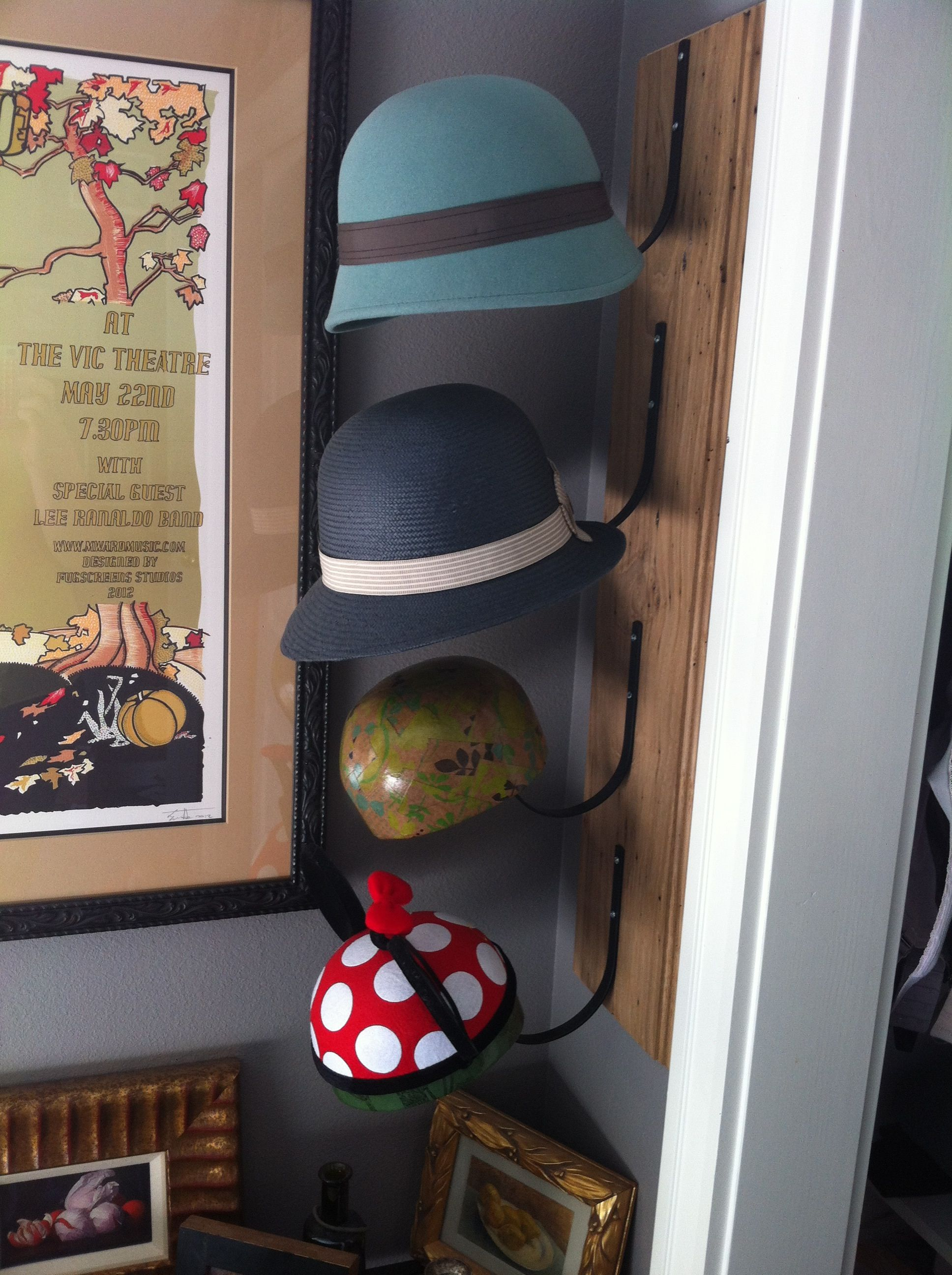Pin By Cate Tallmadge On Home Dec Diy Hat Stand Hat Stands Crafty