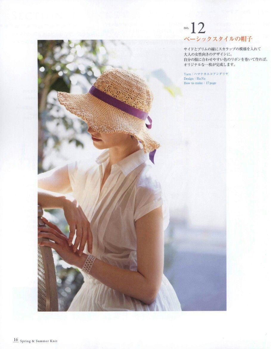 Pin de Netnapa Crochet en หมวก | Pinterest