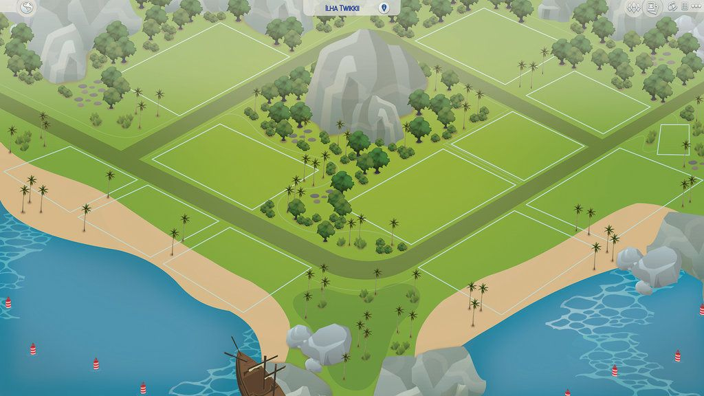 Fan made world sims 4 cc pinterest sims fans and sims cc sims 4 fanmade map twikkii island by filipesims gumiabroncs Choice Image