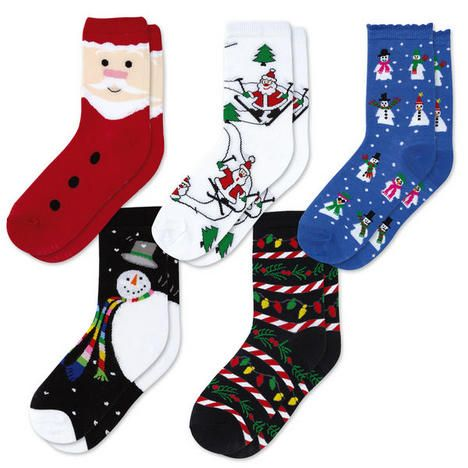 Holiday Socks Value Pack $12.99           Now: $9.99