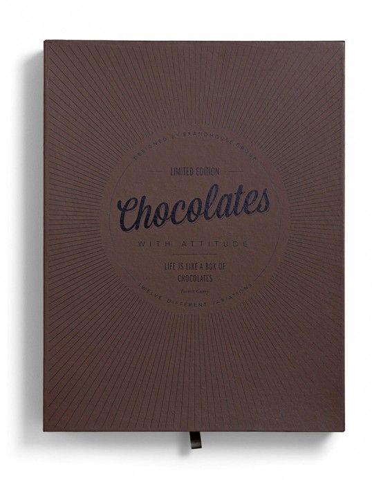 Chocolates with Attitude - Designed by Bessermachen   Country: Denmark