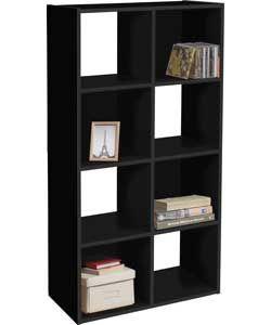 Buy Argos Home Squares 8 Cube Storage Unit Black Bookcases And Shelving Argos 8 Cube Storage Unit Cube Storage Cube Unit