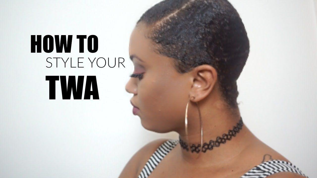 Natural Hair Slick Down On Twa Youtube Slick Hairstyles Natural Hair Styles Natural Hair Twa