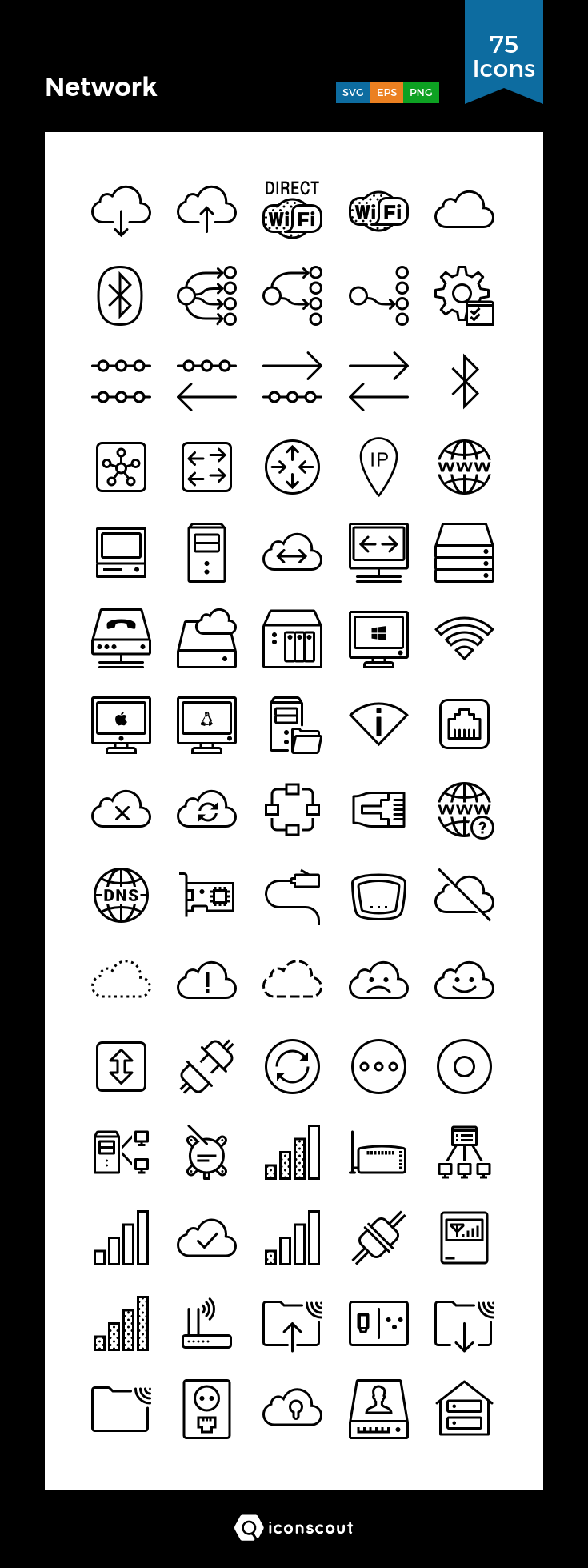 Download Network Icon Pack Available In Svg Png Eps Ai Icon Fonts Network Icon Icon Pack Icon