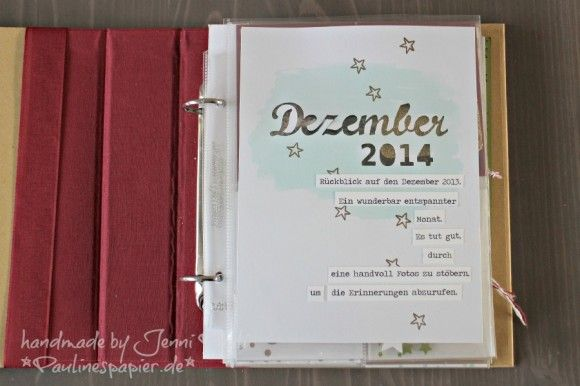 DezemberDaily Dezembertagebuch Jenni Pauli