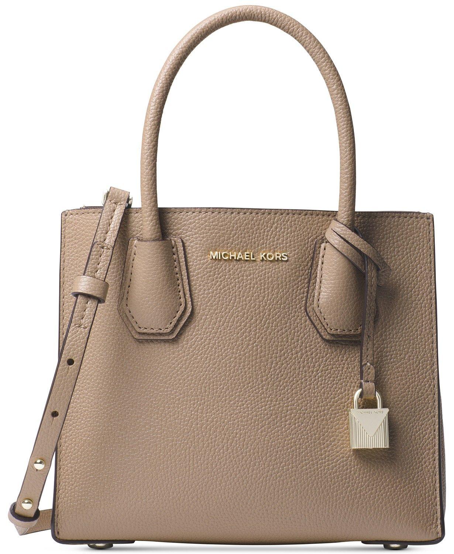 4d784f24b4e8 Michael Kors Mercer Pebble Leather Crossbody - Handbags   Accessories -  Macy s