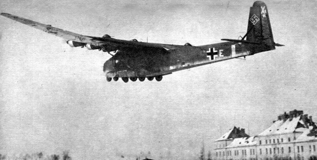 Me 323 Gigant on takeoff – Eastern Front, April 1944