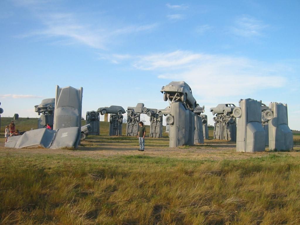 Обои Carhenge near Alliance, Nebraska. Разное foto 7