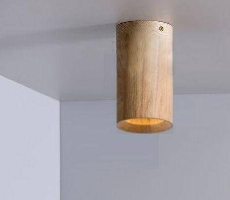 Achinos Tube Ceiling Spotlight Minimal Geometric Modern Mid Century Teak Holzpendelleuchte Deckenlampe Holz Und Deckenstrahler