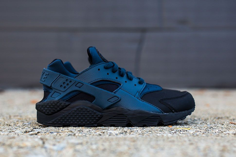 Nike Air Huarache Run Ultra Pk Br Midnight Navy Hyper Punch On Feet08 TopDeals