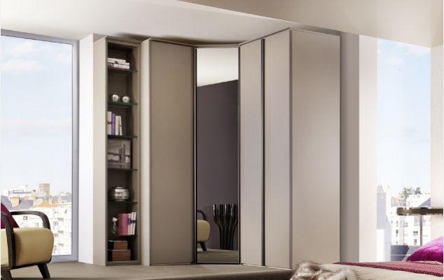 Armoires d 39 angle liberty meubles c lio chambre adulte armoire room et decor - Placard d angle chambre ...