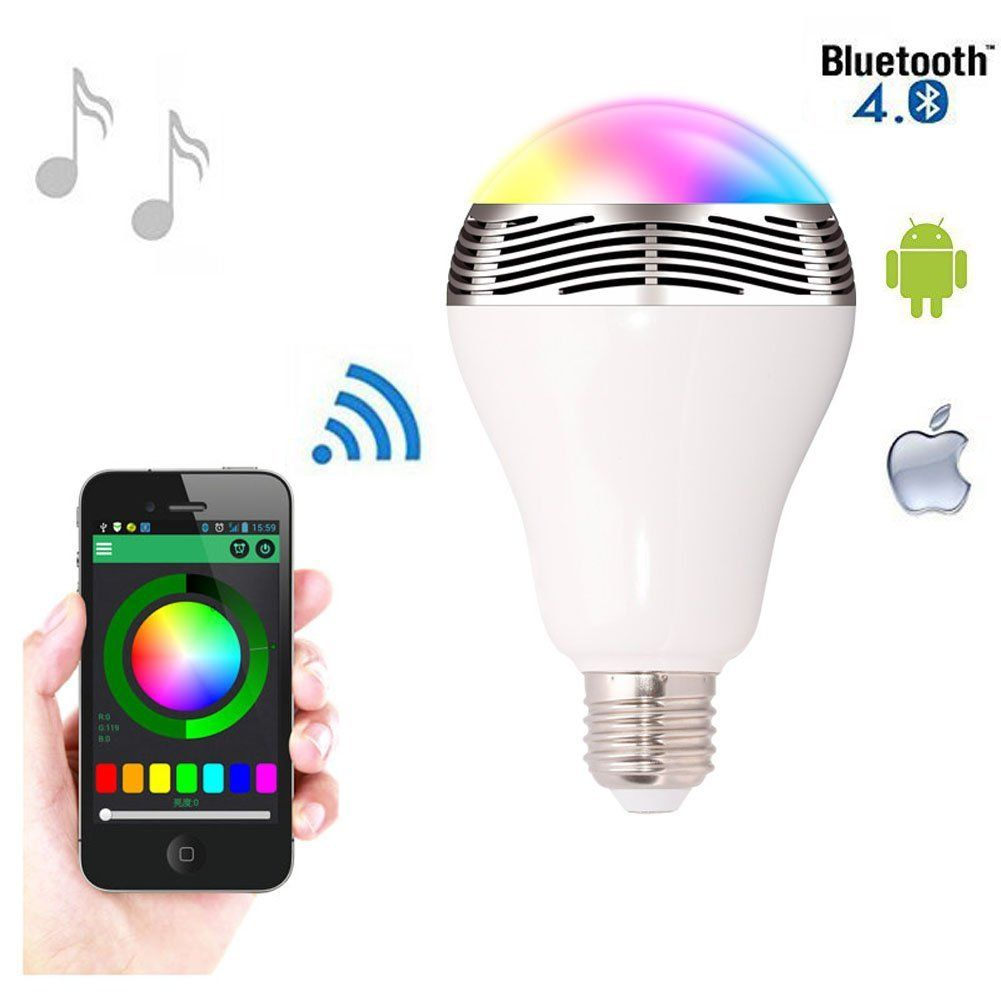 The World S Most Intelligent Light Bulbs Bright And Energy Efficient Led Light Bulbs You Control Wirelessly Via Smart Bulb Bluetooth Light Smart Light Bulbs
