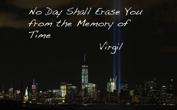 Virgil Philosophy and Inspirational Quote. 9/11 ...