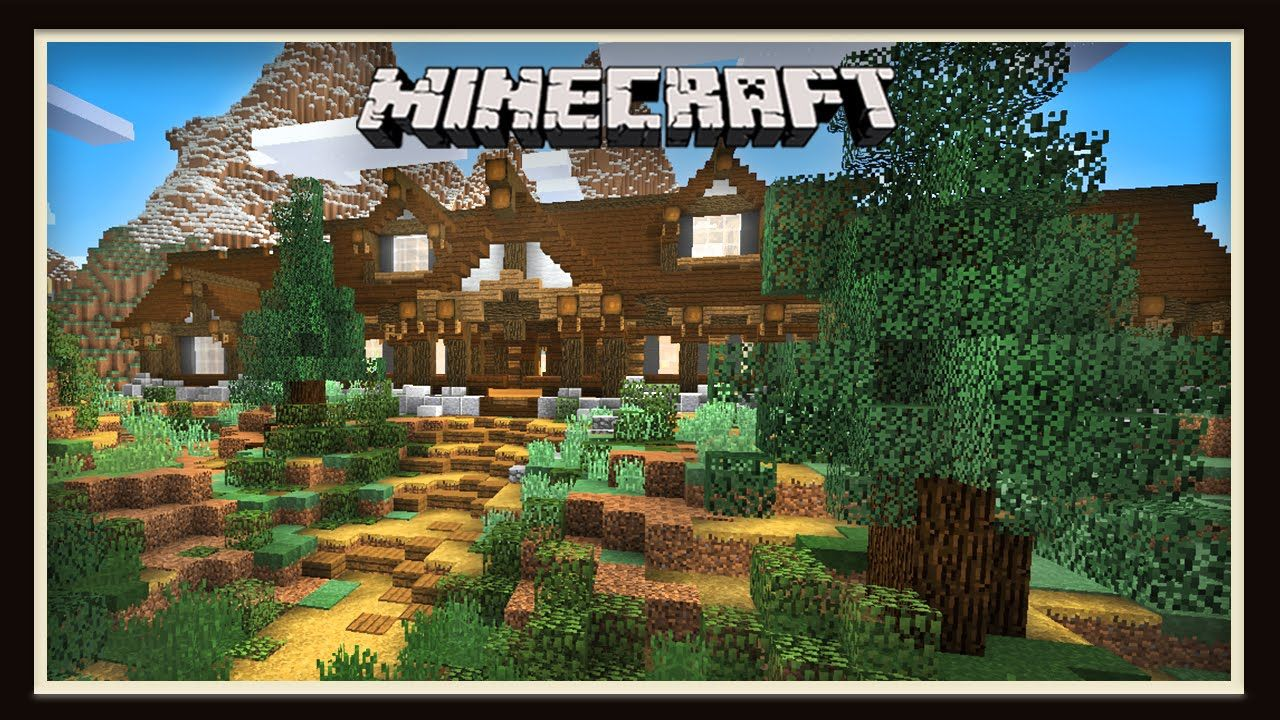 Minecraft: Survival Landscaping and Garden Ideas ... on Backyard Ideas For Minecraft id=98844
