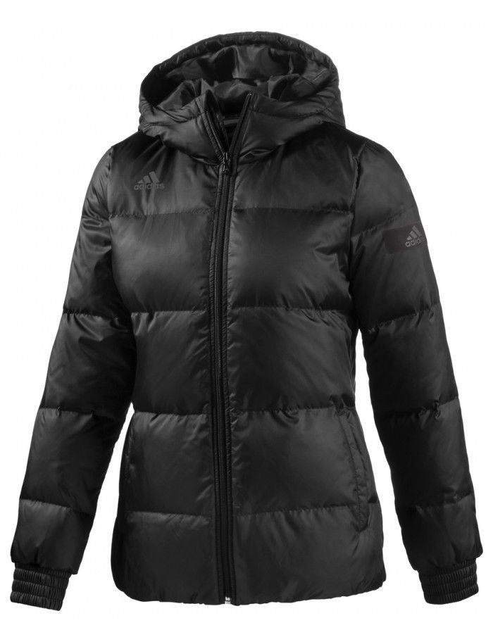 Adidas Cosy Down Simple Jacket M63515 Black Size Small