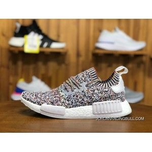 351186a74fe86 Adidas NMD R1 PK Boost BW1126 Black White Red Unisex Originals Sport  Sneakers New