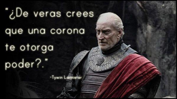 Las Mejores Frases De Game Of Thrones Citas De Juego De